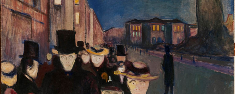 Evening on Karl Johan Street (1892)