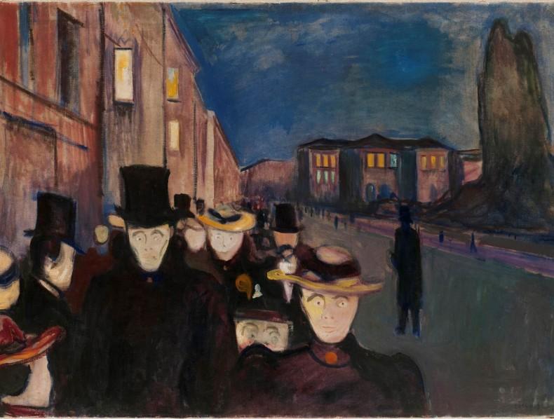 Munch – al Palazzo Ducale di Genova